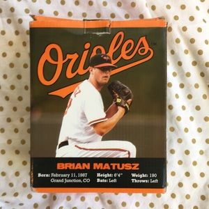 MLB Other - NEW Brian Matusz Baltimore Orioles Bobblehead